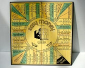 Vintage Board Game / Easy Money / Milton Bradley Company / 1936 1940 / Number 4460