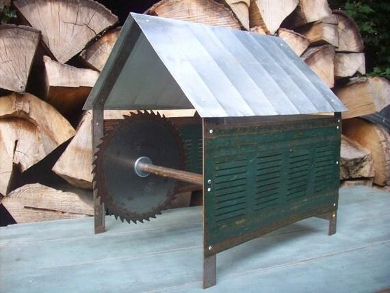 Metal Sculpture / Industrial Architectural Model  /  Saw Mill Dreams  /  Modern Industrial Art