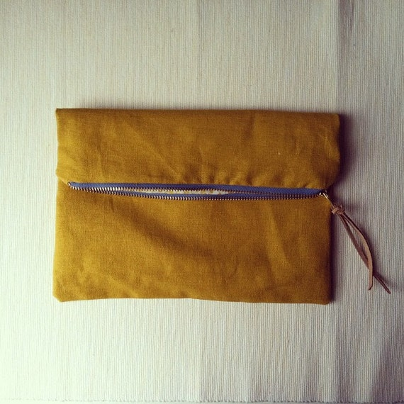 Mustard Pouch - free shipping