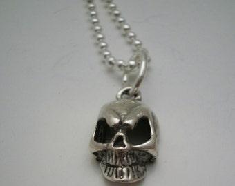 Skull Silver  Necklace