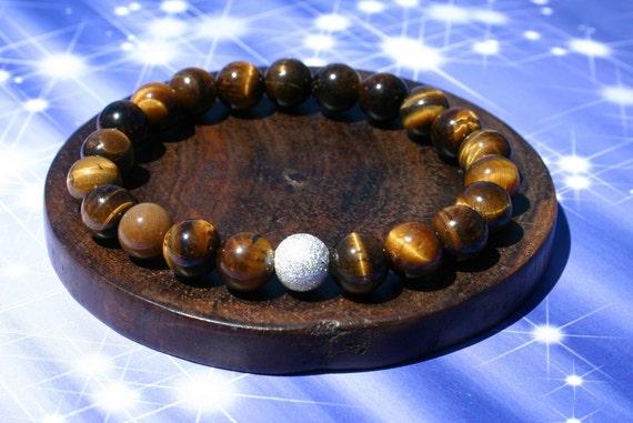 Confidence-Boosting Tiger's Eye Zen Bracelet