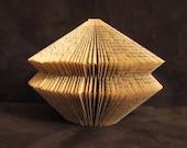 Harry Potter - book sculpture - folded book