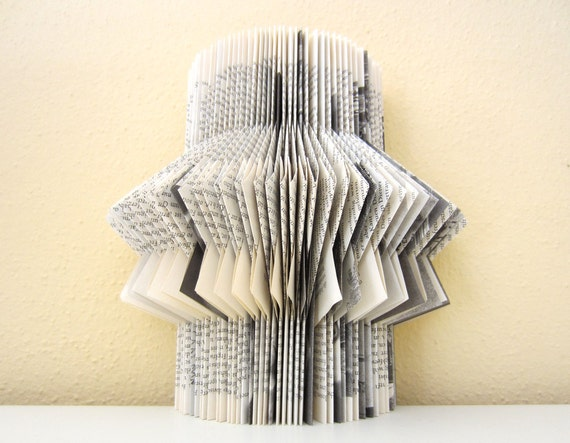 Book Sculpture - altered Book