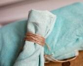 Raw Silk Picnic Blanket & Napkin Set