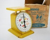 Yellow American Family Kitchen Scale