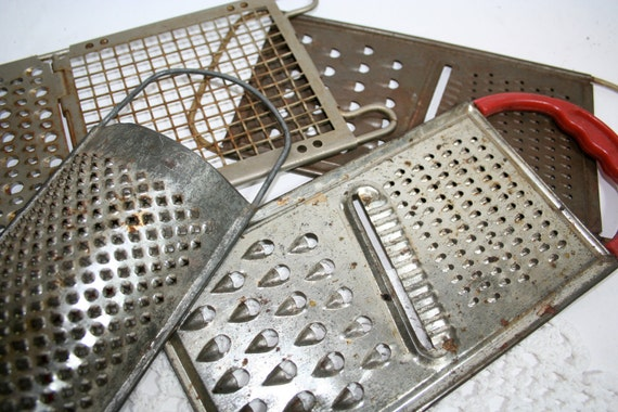 SALE De-Stash Instant Collection of Kitchen Graters
