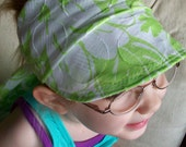 upcycled favorite wears eco friendly fiber visor wrap cap scarf head band by Claudia Fill
