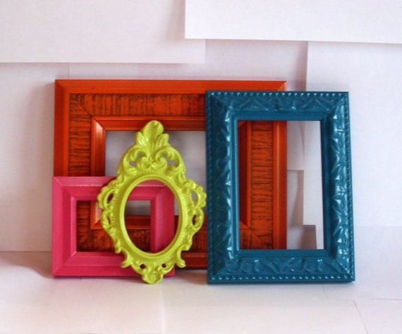 Crescendo Frame Collection, 4 pcs, Bright Colors