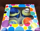 SALE Baby Clothes Cupcake Gift Set Spring Easter - Discontinued Item