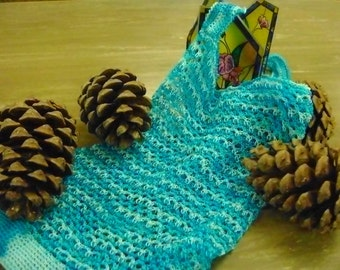 Farmers Market Bag in Variety Turquoise