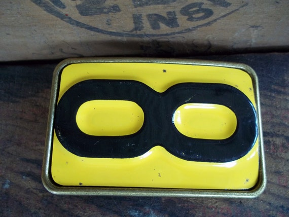 Belt Buckle - Vintage License Plate   Belt Buckle