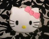 Reserved for Carla - Hello Kitty Sugar Cookies - 2 Dozen
