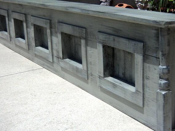 Rustic King Size Headboard,  Primitive Wall Decor Or Window Cornice MADE TO ORDER
