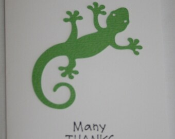 Lizard Thank you cards