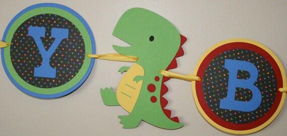 Custom listing for karyn Dinosaur Primary colors