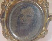 Male Portrait Brooch
