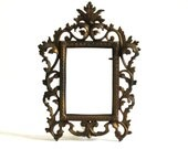 Antique Victorian Acanthus Leaves Rococo Gilt Frame