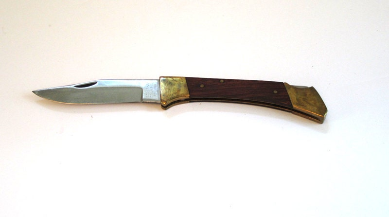 Vintage collectible folding lock knife made in pakistan in for Gardening tools pakistan