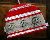 Ladybug Lincut Tea Cozy
