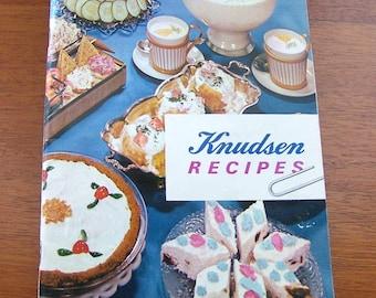 Knudsen Recipes The Very Best 1962 Cookbook