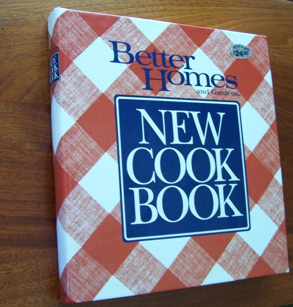 Better homes and gardens new cook book cookbook 1989 vintage - Vintage better homes and gardens cookbook ...