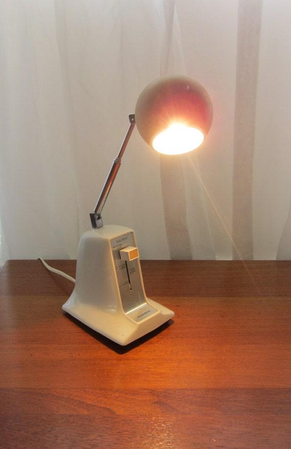 Vintage Panasonic High Intensity Desk Lamp Small by slovintage