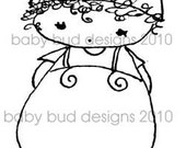 Digital Image 'Owie' Baby Bud