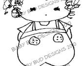 Digital Image 'Jack' Baby Bud