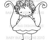 Digital Image 'Fairy Orlagh' Baby Bud