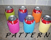 Can Cozy, Beer Cozy  - PATTERN