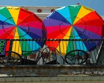 UMBRELLA PHOTOGRAPHY, Colorful Rainbow Umbrellas in various sizes