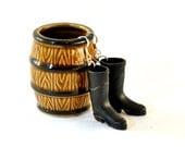 Black Wellington Boot Earrings - Gardener Gift - Gardener Earrings