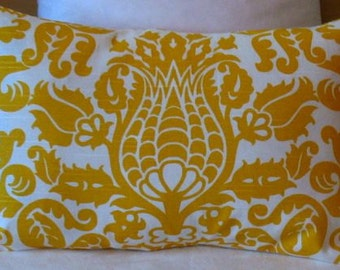 ONE  20 x 26  Pillow Cover Yellow Amsterdam Bed Pillow Sham Cover
