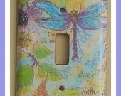 dragonfly lightswitch cover
