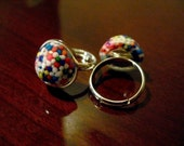 Resin Sprinkle Ring- Yummy Bubble