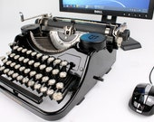 USB Typewriter Computer Keyboard -- Underwood Portable A