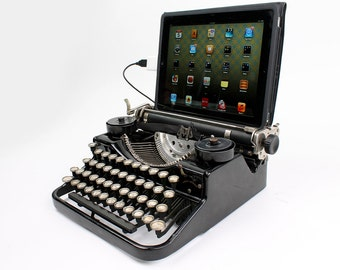USB Typewriter Computer Keyboard -- Underwood Standard Portable c. 1930
