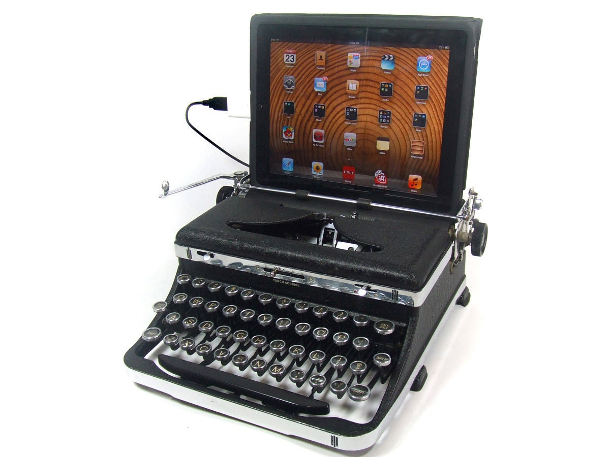 USB Typewriter Computer Keyboard Royal Deluxe by usbtypewriter | 1200 x 900 jpeg 161kB