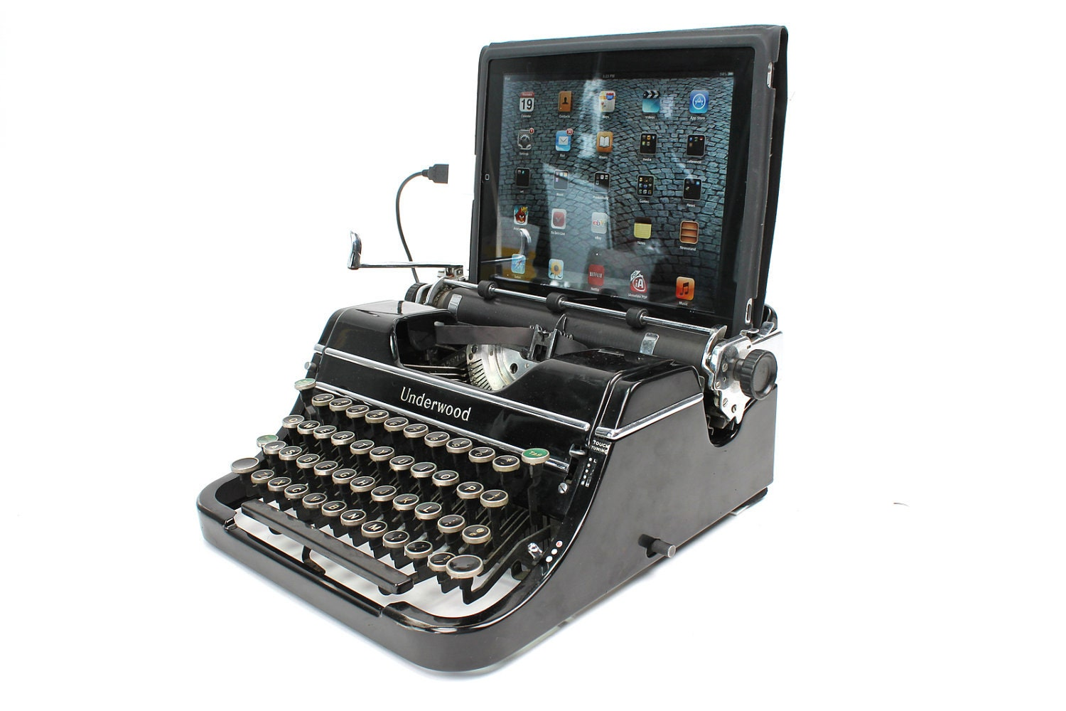 USB Typewriter Computer Keyboard and iPad Dock by ... | 1500 x 1000 jpeg 193kB