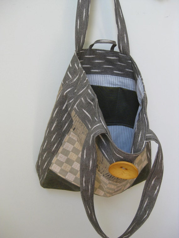 Price Reduced Large Handmade Artsy Sophicated Handbag