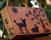 Forest Animals Wooden Box