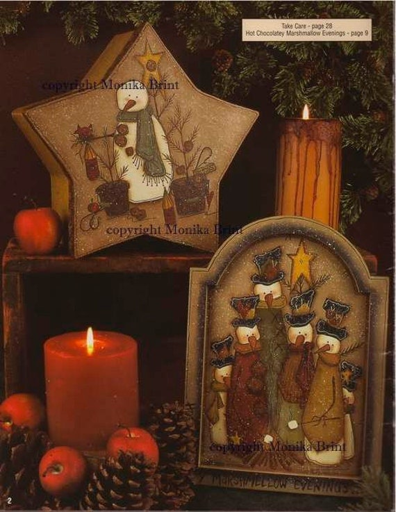 Hot Chocolate Evenings Christmas Decor Country