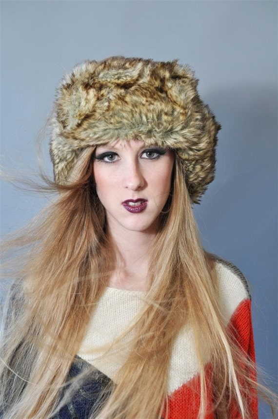 MOVING SALES 50% OFF- Faux Fur Trapper Hat