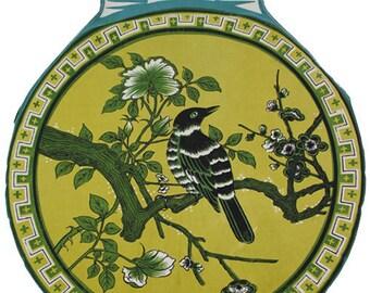 Vintage Mocking Bird Clothing Line Pin Holder