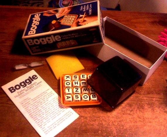 Vintage board game - Parker brothers - Boggle - 1976