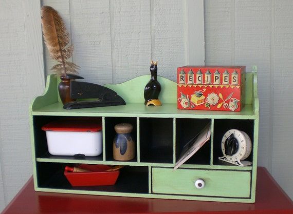 kitchen counter mail organizer vintage primitive mail organizer cabinet drawer desk kitchen 6634