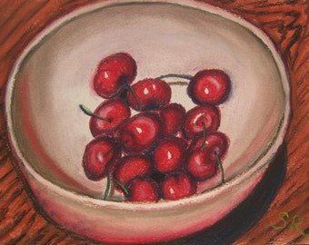 Life''s a bowl of Cherries, pastel