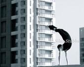 DANCE PHOTOGRAPHY PRINT 'Roof Ballet'