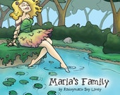 Maria's Family Children's Book Signed