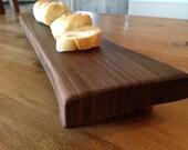 Baguette Footed Bread Board - Walnut